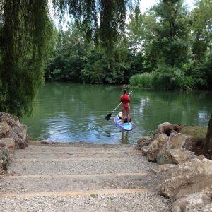 Rentals hikes canoë kayak stand up paddle Pedalo Vindelle Charente